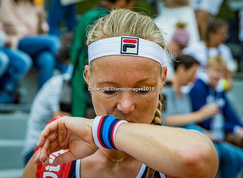 Paris, France, 26 May, 2019, Tennis, French Open, Roland Garros, Kiki Bertens (NED )at practise<br /> Photo: Henk Koster/tennisimages.com
