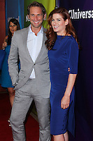 BEVERLY HILLS, CA, USA - JULY 13: Josh Lucas, Debra Messing at the NBCUniversal Summer TCA Tour 2014 - Day 1 held at the Beverly Hilton Hotel on July 13, 2014 in Beverly Hills, California, United States. (Photo by Xavier Collin/Celebrity Monitor)
