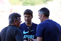 Tottenham manager Mauricio Pochettino before Girona FC vs Tottenham Hotspur, Friendly Match Football at Estadi Montilivi on 4th August 2018