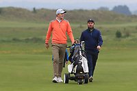 Eugene Smith (Links Portmarnock) and Paul O'Hanlon (Carton House) on the 1st during Round 1 of The East of Ireland Amateur Open Championship in Co. Louth Golf Club, Baltray on Saturday 1st June 2019.<br /> <br /> Picture:  Thos Caffrey / www.golffile.ie<br /> <br /> All photos usage must carry mandatory copyright credit (© Golffile | Thos Caffrey)