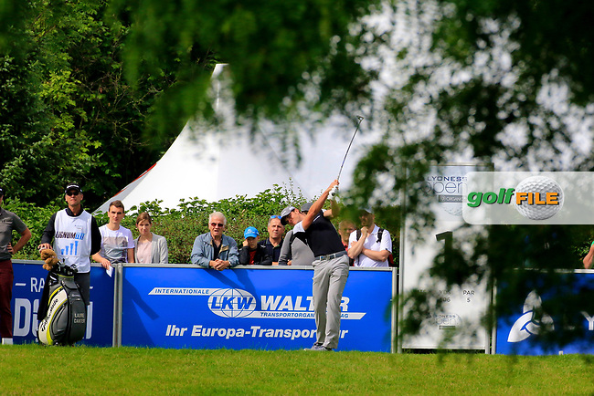 Laurie Canter (ENG) during the third round of the Lyoness Open powered by Organic+ played at Diamond Country Club, Atzenbrugg, Austria. 8-11 June 2017.<br /> 10/06/2017.<br /> Picture: Golffile | Phil Inglis<br /> <br /> <br /> All photo usage must carry mandatory copyright credit (&copy; Golffile | Phil Inglis)