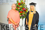 Rebecca Ducey from Banteer with her mom Heidi graduating from the I T Tralee on Friday.