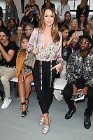 at the Jasper Conran catwalk show as part of London Fashion Week SS17, Brewer Street Car Park, Soho London<br /> <br /> <br /> &copy;Ash Knotek  D3155  17/09/2016