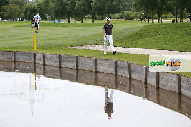 6-birdie lead thwarted by double bogeys on the 14th and 16th holes made an unhappy Rikard Karlberg (SWE) during Round One of the 2015 BMW International Open at Golfclub Munchen Eichenried, Eichenried, Munich, Germany. 25/06/2015. Picture David Lloyd   www.golffile.ie