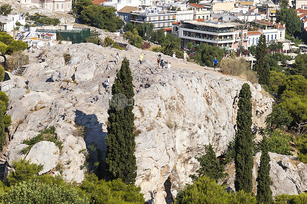 The Areopagus rock, Athens, Greece, viewed from the Acropolis<br /> CAP/MEL<br /> &copy;MEL/Capital Pictures /MediaPunch ***NORTH AND SOUTH AMERICA ONLY***