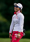 Hye-Youn Kim of Korea reacts during the Hyundai China Ladies Open 2014 on December 10 2014 at Mission Hills Shenzhen, in Shenzhen, China. Photo by Li Man Yuen / Power Sport Images