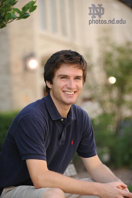 Dan Krcmaric..Photo by Matt Cashore/University of Notre Dame
