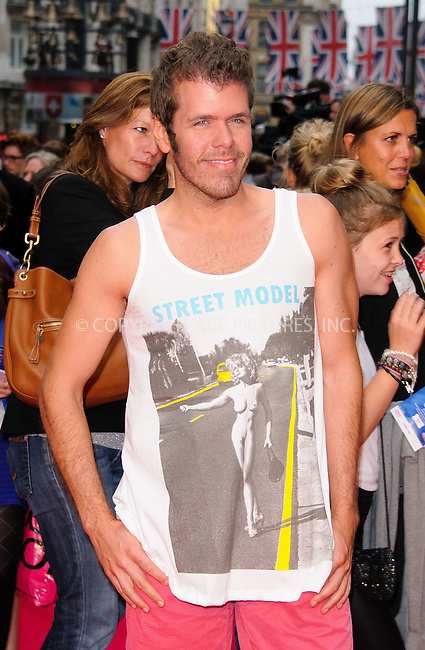 """WWW.ACEPIXS.COM . . . . .  ..... . . . . US SALES ONLY . . . . ....July 3 2012, London....Perez Hilton at the premiere of """"Katy Perry: Part of Me"""" held at the Empire Leicester Square on July 3 2012 in London ....Please byline: FAMOUS-ACE PICTURES... . . . .  ....Ace Pictures, Inc:  ..Tel: (212) 243-8787..e-mail: info@acepixs.com..web: http://www.acepixs.com"""