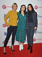 Jane Moore, Stacey Solomon and Andrea McLean at the Mind Media Awards 2018, Queen Elizabeth Hall, Belvedere Road, London, England, UK, on Thursday 29 November 2018.<br /> CAP/CAN<br /> &copy;CAN/Capital Pictures