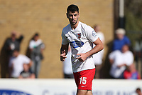 Joe Quigley of Dagenham and Redbridge during Dagenham & Redbridge vs Hartlepool United, Vanarama National League Football at the Chigwell Construction Stadium on 14th September 2019