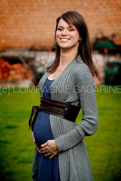 A pregnant young woman (Belgium, 20/10/2010)