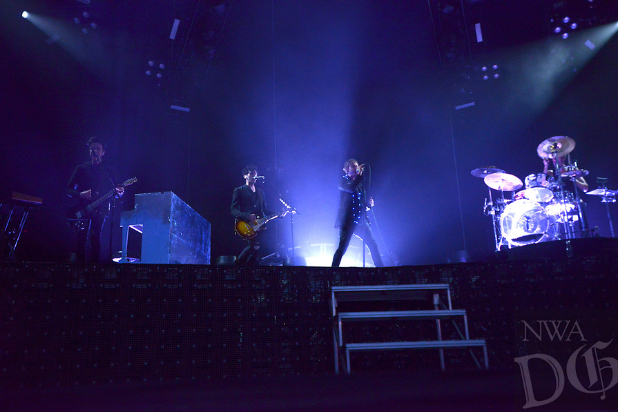 NWA Democrat Gazette/JOCELYN MURPHY<br /> <br /> California alternative rock band Third Eye Blind returned to the Walmart AMP in Rogers on Wednesday, July 12, 2017 as part of their Summer Gods Tour.