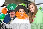 PADDY'S DAY: Enjoying the Craic at the Ballybunion St Patrick's Day Parade l-r: Patsy, Paddy and Maggie Flavin. Tullaminell, Asdee...