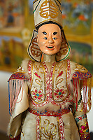 traditional puppet, Burattini. Palermo puppet Museum, Sicily