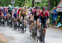 Jonathan Castroviejo (ESP/Ineos) leading the Ineos train up the final climb: the Col de Porte<br /> <br /> Stage 2: Vienne to Col de Porte (135km)<br /> 72st Critérium du Dauphiné 2020 (2.UWT)<br /> <br /> ©kramon