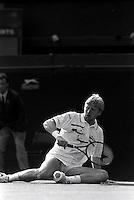 Pix:Michael Steele/SWpix...Tennis. Wimbledon, 1990...COPYRIGHT PICTURE>>SIMON WILKINSON..Boris Becker, Wimbledon.