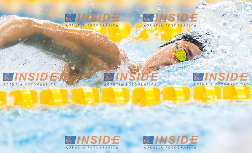 LETRARI Laura ITA<br /> London, Queen Elizabeth II Olympic Park Pool <br /> LEN 2016 European Aquatics Elite Championships <br /> Swimming<br /> Women's 4x100m freestyle preliminary <br /> Day 08 16-05-2016<br /> Photo Giorgio Perottino/Deepbluemedia/Insidefoto