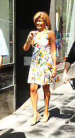 NEW YORK, NY-July 06: Hoda Kotb host  at Today Show  in New York. NY July 06, 2016. Credit:RW/MediaPunch