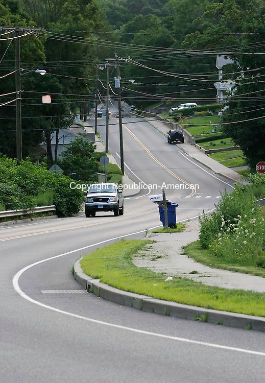 WATERBURY, CT, 07 July 2006- 070706BZ06- Boyden Street in Waterbury Friday afternoon. <br /> Jamison C. Bazinet Republican-American