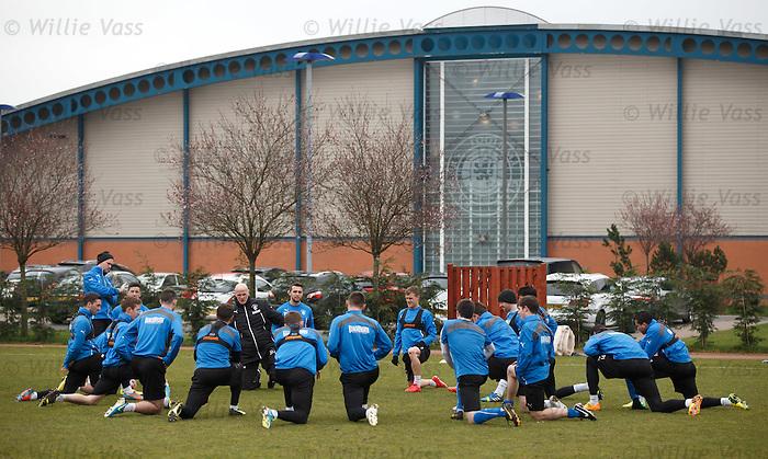 Rangers squad training