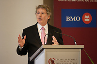 Montreal (QC) CANADA, may 5 2010- JOHN PARISELLA, DELEGATE GENERAL OF QUÉBEC IN NEW YORK CITY,<br />               AT THE CANADIAN CLUB OF MONTREAL'S PODIUM