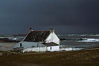 Europe/France/Bretagne/56/Morbihan/Quiberon: Vieille maison sur la cote sauvage