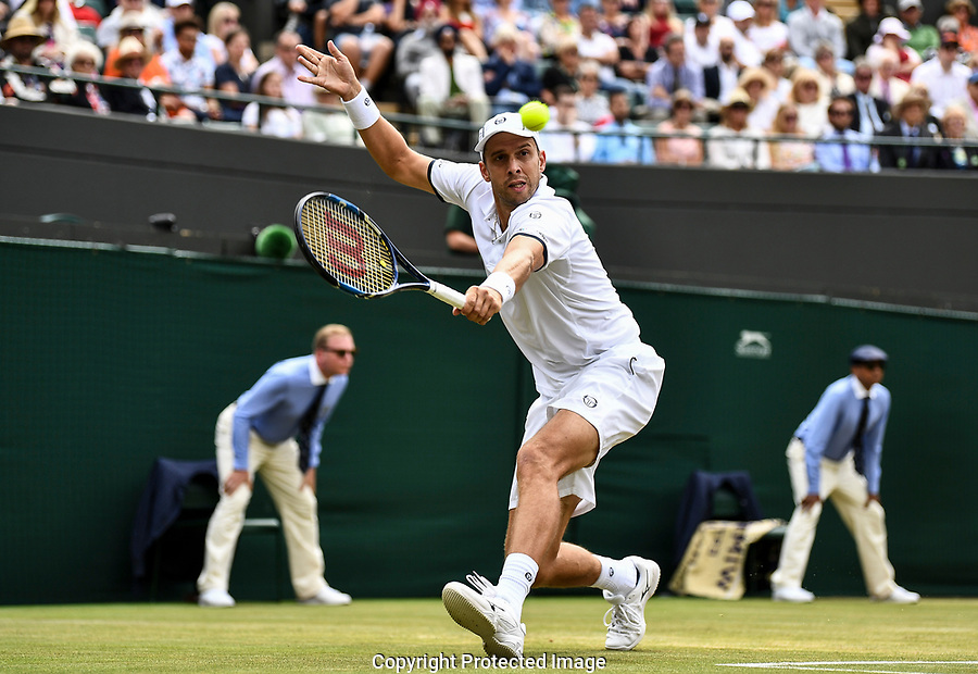 Gilles Muller (LUX) in action