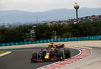 17th July 2020, Hungaroring, Budapest, Hungary; F1 Grand Prix of Hungary,  free practise sessions;  33 Max Verstappen NLD, Aston Martin Red Bull Racing, Budapest Hungary