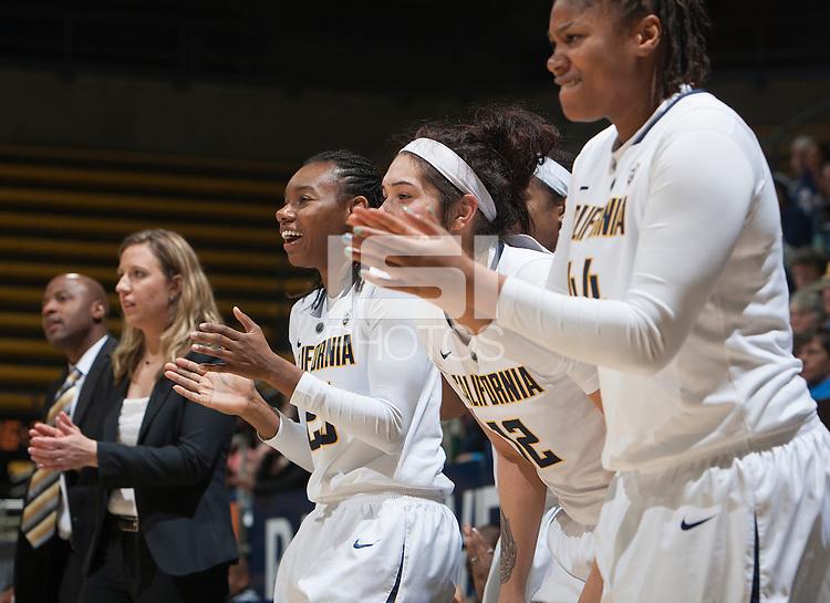 Berkeley, Calif. - November 18, 2014: California defeated Nevada 76-54 in a NCAA women's basketball game at Haas Pavilion.