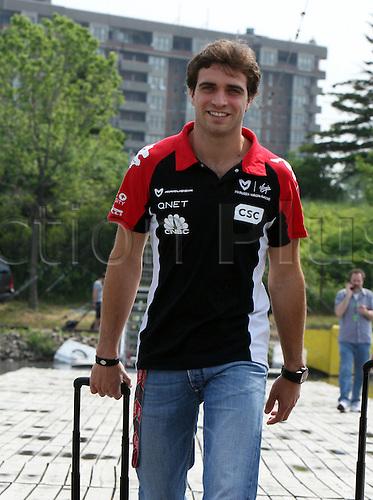 06.10.2011, Montreal, Canada. Formula 1 Grand Prix.   Jerome D Ambrosio, Virgin Racing-Cosworth, ..