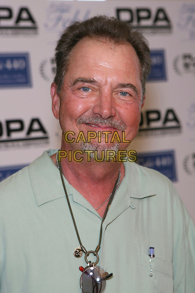 "GREG ITZIN.The Frederic Fekkai Pre-Emmy ""Style 2006 Garden Party"" - Day 1, Los Angeles, California, USA..August 25th, 2006.Ref: ADM/ZL.headshot portrait goatee facial hair necklace.www.capitalpictures.com.sales@capitalpictures.com.©Zach Lipp/AdMedia/Capital Pictures."