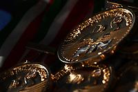 Le medaglie <br /> Roma 06/01/2019 Centro Federale  <br /> Final Six Pallanuoto Donne Coppa Italia <br /> SIS Roma - Rapallo Pallanuoto Finale 1-2 posto <br /> Foto Andrea Staccioli/Deepbluemedia/Insidefoto