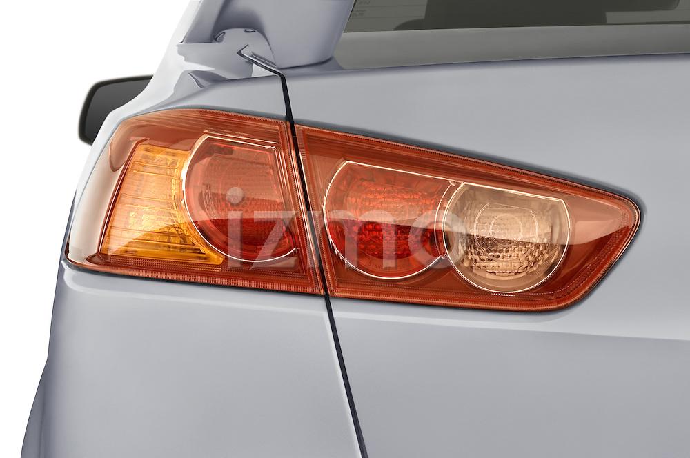 Close up of 2008 Mitsubishi Lancer tail light.