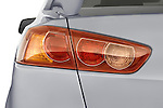 Close up of 2008 Mitsubishi Lancer tail light.