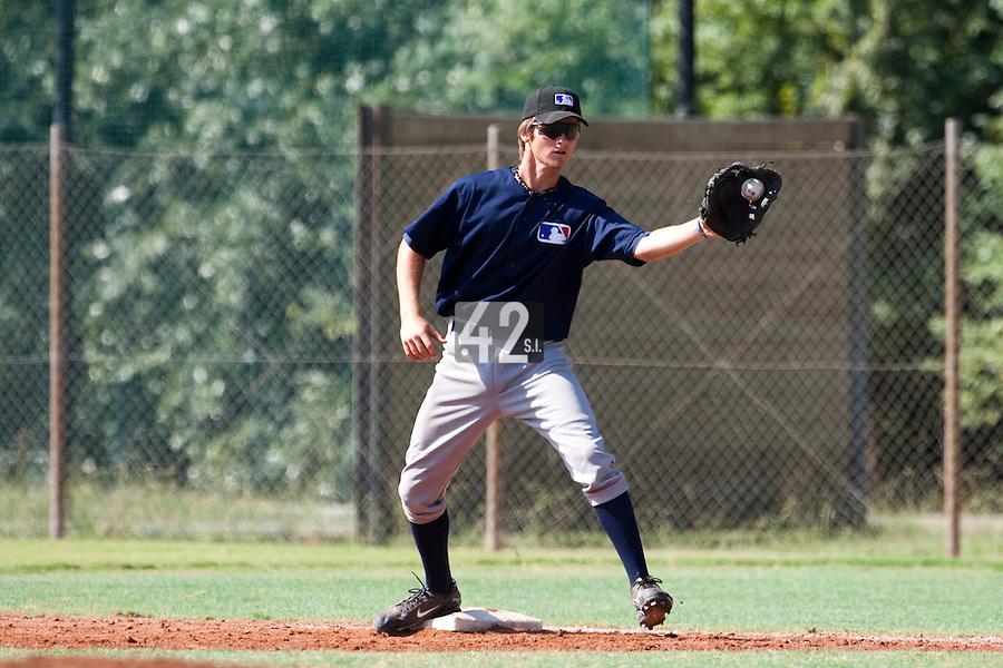Baseball - MLB European Academy - Tirrenia (Italy) - 21/08/2009 - Simon Vicente (France)