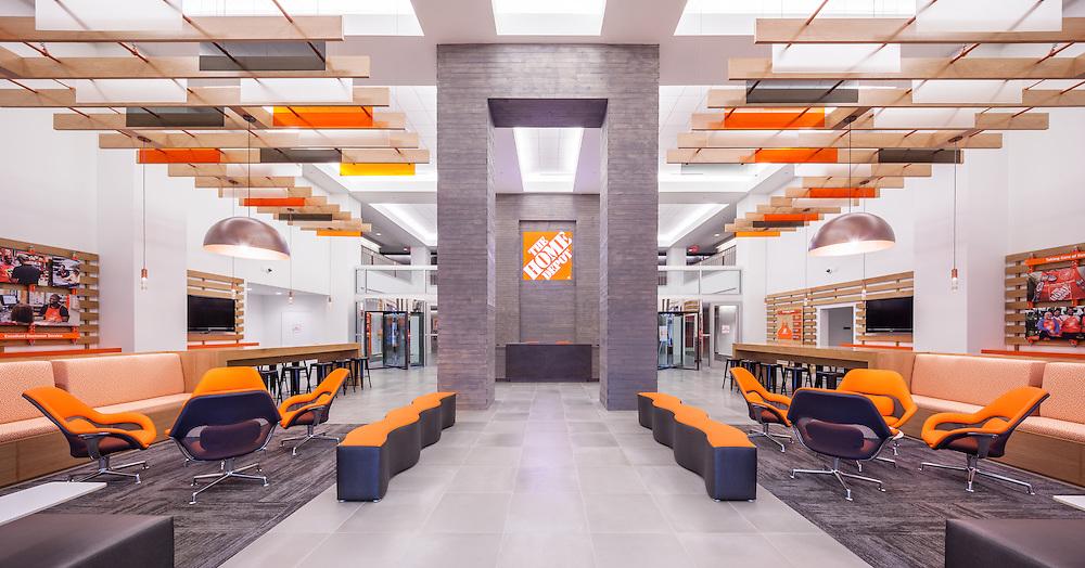 Home Depot SSC head office lobby | Jason Buch Photography