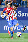 Atletico de Madrid's Yannick Ferreira Carrasco during the match of La Liga Santander between Atletico de Madrid and Deportivo Alaves at Vicente Calderon Stadium. August 21, 2016. (ALTERPHOTOS/Rodrigo Jimenez)