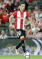 Athletic de Bilbao's Aritz Aduriz during Supercup of Spain 1st match.August 14,2015. (ALTERPHOTOS/Acero)
