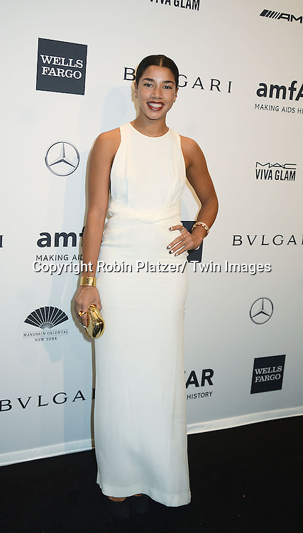 Hannah Bronfman attends the amfAR New York Gala on February 5, 2014 at Cipriani Wall Street in New York City.