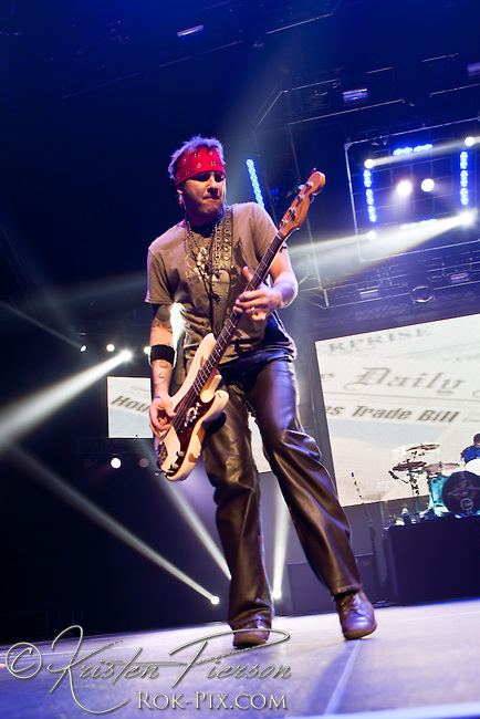 3 Doors Down perform at Mohegan Sun Arena, Uncasville, Connecticut, February 17, 2013