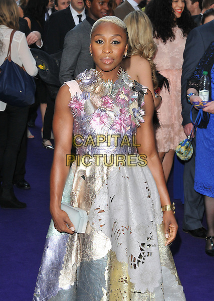 Cynthia Erivo at the &quot;Disney's Aladdin&quot; press night, Prince Edward Theatre, Old Compton Street, London, England, UK, on Wednesday 15 June 2016.<br /> CAP/CAN<br /> &copy;CAN/Capital Pictures
