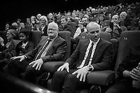 director Jan Vandermotte & Sven Nys at the S V E N movie première
