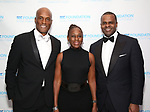 Kenny Leon, Chirlane McCray and Kasim Reed attend the SDC Foundation presents The Mr. Abbott Award honoring Kenny Leon at ESPACE on March 27, 2017 in New York City.