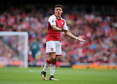 1st October 2017, Emirates Stadium, London, England; EPL Premier League Football, Arsenal versus Brighton; Alexis Sanchez of Arsenal reacts after his pass is wasted