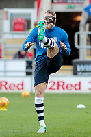 Preston North End's Tom Clarke during the pre-match warm-up <br /> <br /> Photographer David Shipman/CameraSport<br /> <br /> The EFL Sky Bet Championship - Rotherham United v Preston North End - Tuesday 1st January 2019 - New York Stadium - Rotherham<br /> <br /> World Copyright © 2019 CameraSport. All rights reserved. 43 Linden Ave. Countesthorpe. Leicester. England. LE8 5PG - Tel: +44 (0) 116 277 4147 - admin@camerasport.com - www.camerasport.com