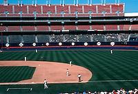 Ballparks: San Diego--Jack Murphy Stadium. Game on 9/29/92.