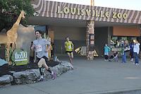 Throo the Zoo 5k Run, Louisville, KY May 8, 2010
