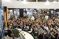 São Paulo,SP, 26 de Outubro de 2013 - Segundo dia do Brasil Game Show (BGS),tem muita diversão para o visitante na sua Sexta Edição o publico estimado é de 150 mil visitantes Fotos:Carlos Pessuto Brazil Photo Press.