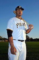 Feb 28, 2010; Bradenton, FL, USA; Pittsburgh Pirates  infielder Pedro Alvarez (17) during  photoday at Pirate City. Mandatory Credit: Tomasso De Rosa/ Four Seam Images