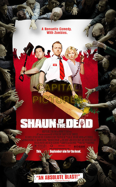 KEY ART.in Shaun Of The Dead.*Editorial Use Only*.www.capitalpictures.com.sales@capitalpictures.com.Supplied by Capital Pictures.